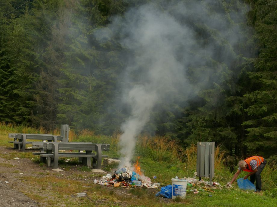 feu poubelles