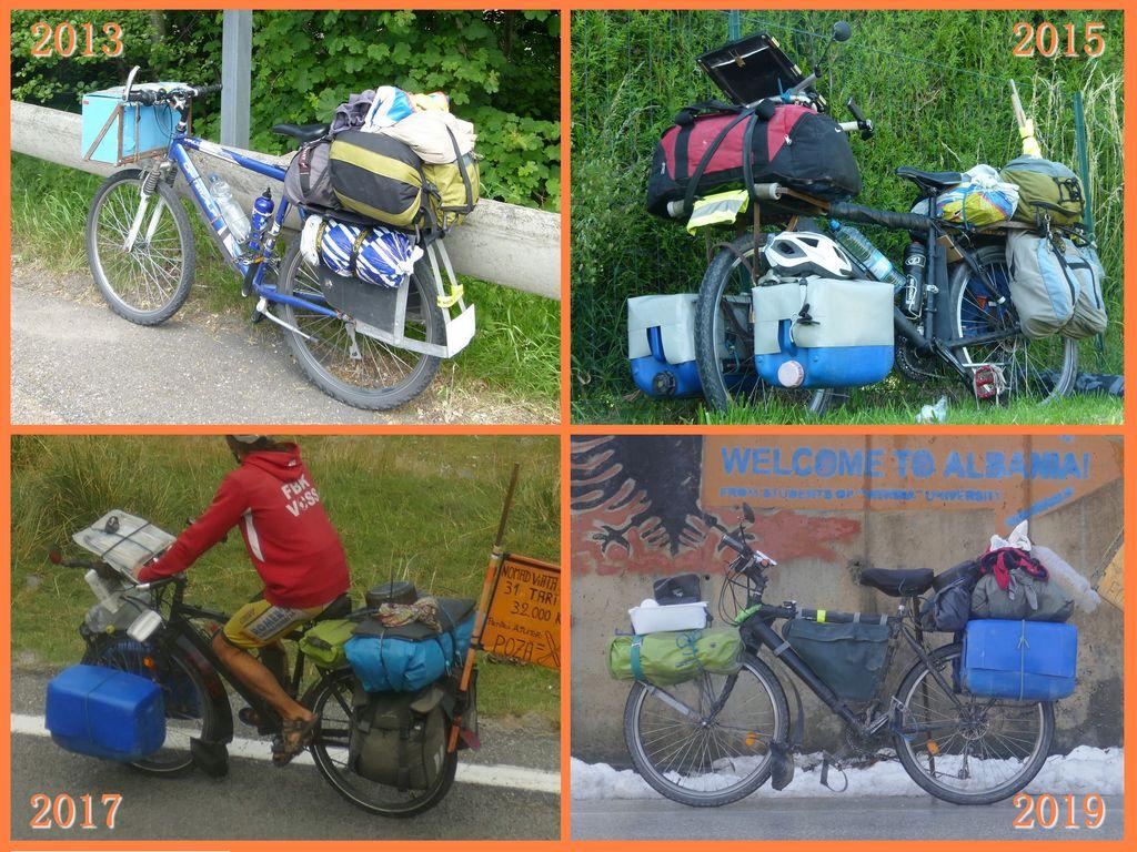 Evolution vélo